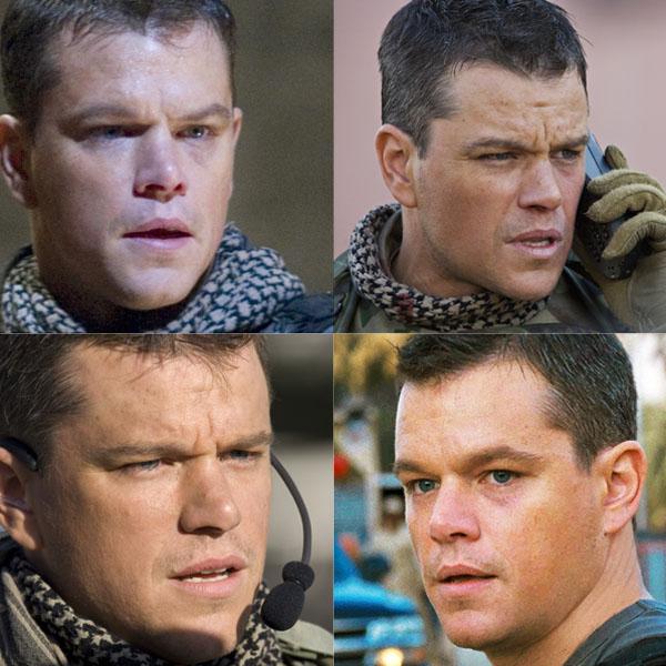 Matt Damon x 4