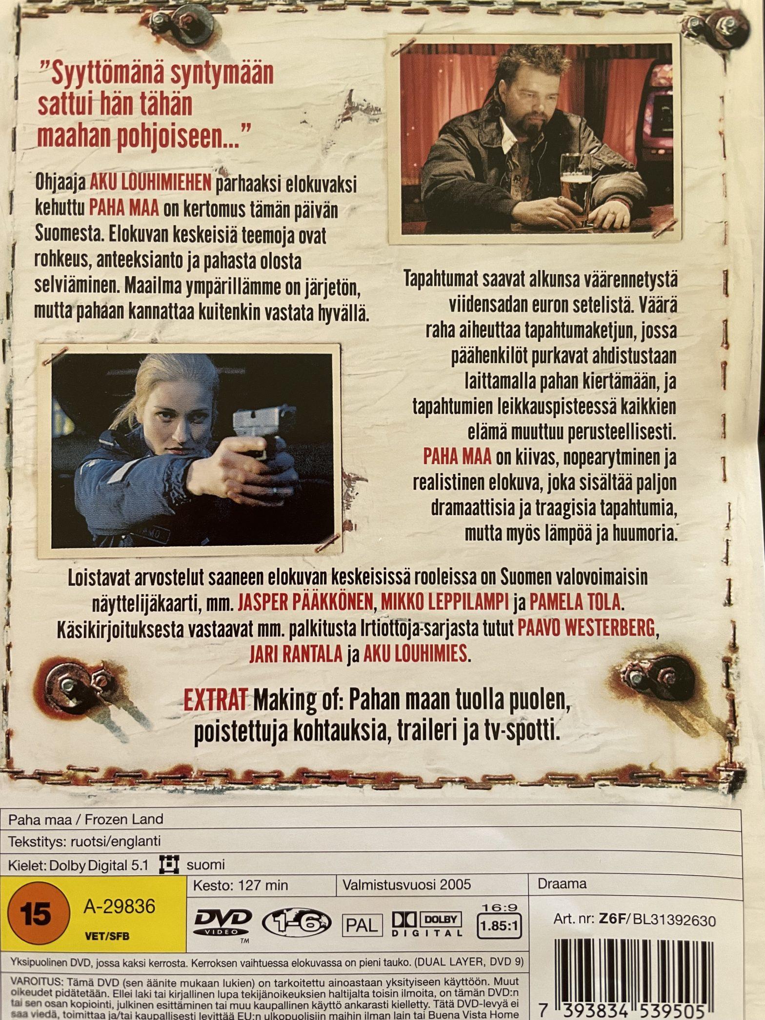 Paha maa -dvd